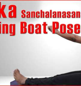 Nauka Sanchalanasan (Rowing the Boat Pose)