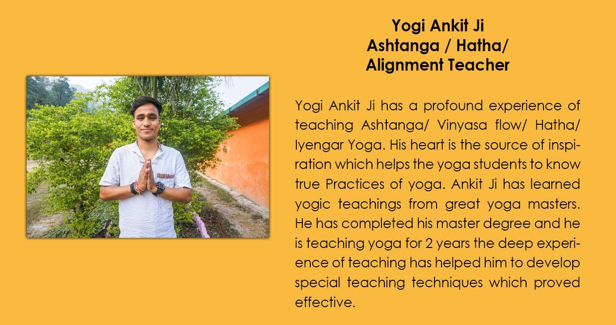 Yogi Ankit Ji - Bali Yoga School