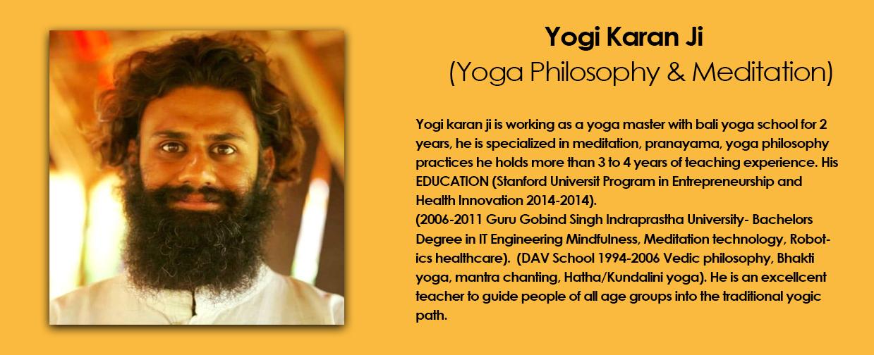 yogi karan ji