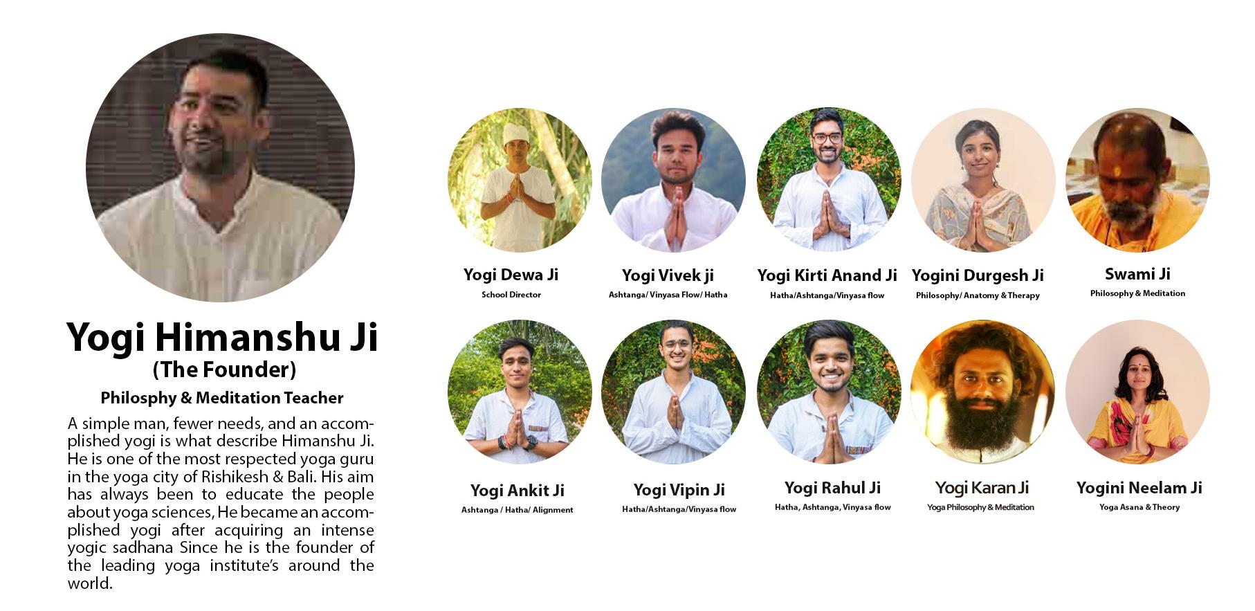 bali yoga teachers