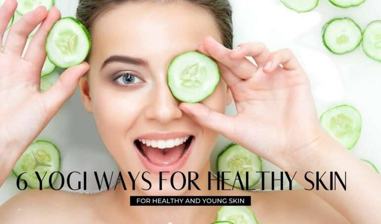 6 yoga tips for healthy skin